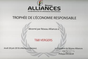 Trophée Alliances T&B vergers