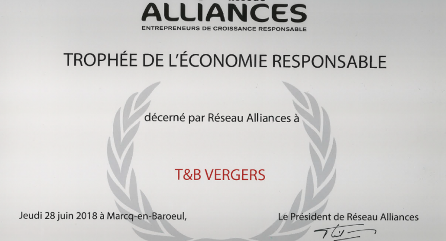 Trophée Alliances T&B vergers